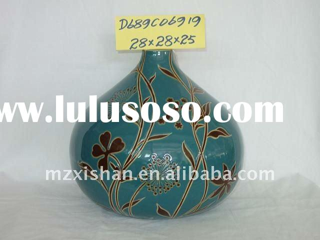 Hand Painted Bud Vase | Glass Vases | Flower Vases