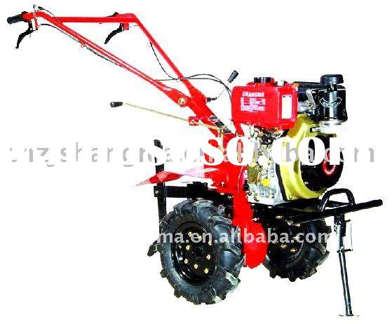 hand tractor with plough SM186F (9HP)