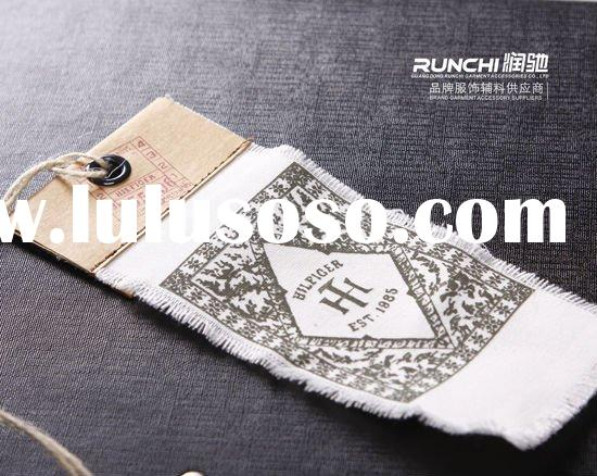 hang tag garment label fabric tag clothing label garment accessories swing tickets garment tags swin
