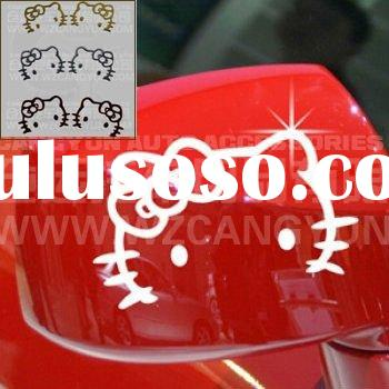 hello kitty Hot Sale Car Decal Art Sticker PVC Sticker! Best quality!