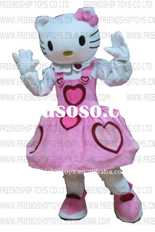 hello kitty cartoon character mascot costume
