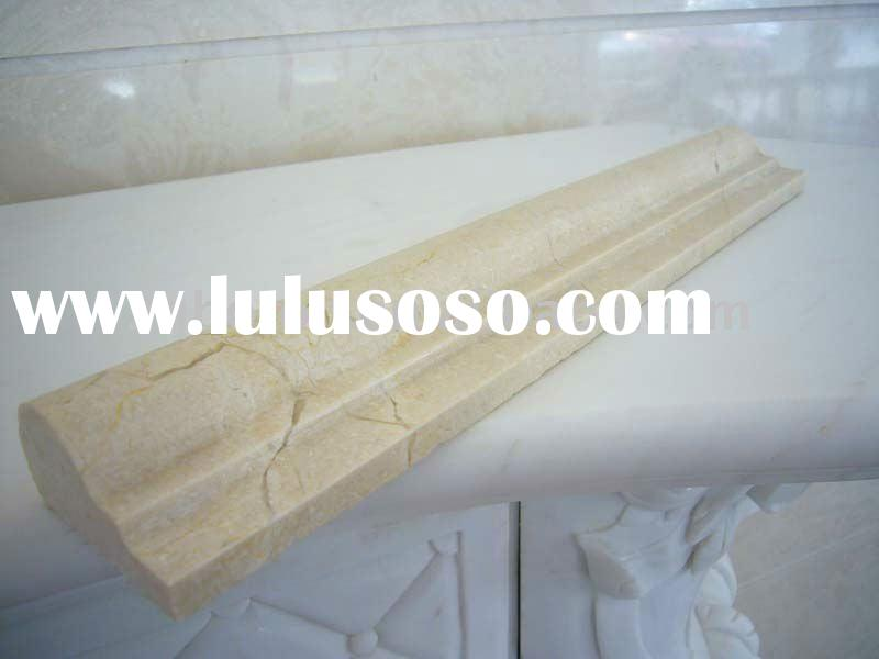 high quality marble stone moulding/stone border/stone line