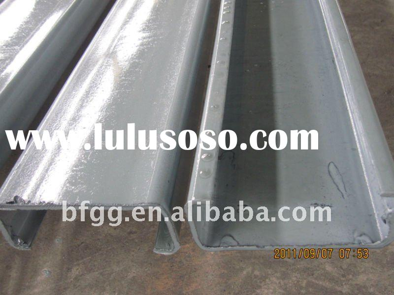 high strength use for roof purlin C steel beam C section steel ,C shaped steel