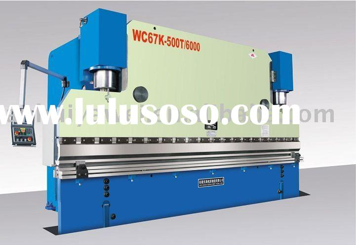 hydraulic press brake,metal bending machine,cnc hydraulic press brake WC67Y-160T3100 with DA65W DELE