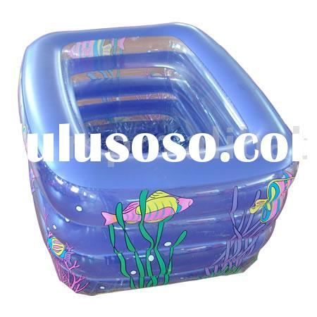 inflatable swimming pool,rectangle four layers,designed for children and adult both