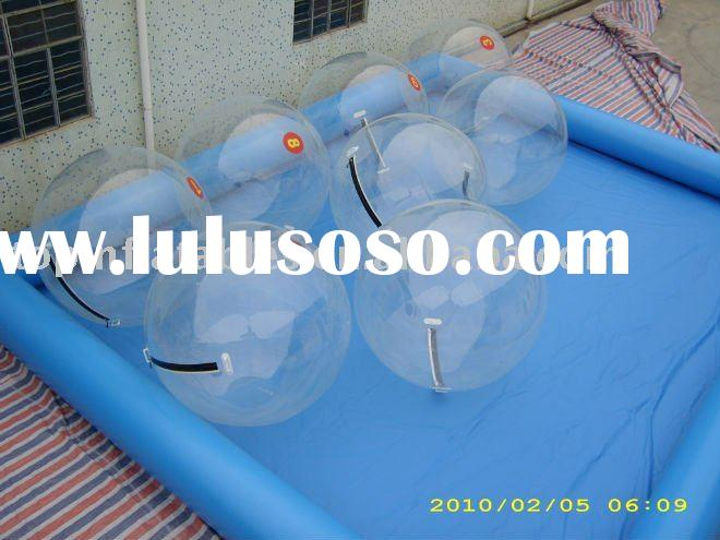inflatable water walking ball and pool