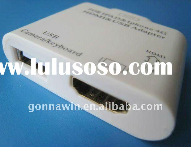 ipad2 to hdmi and usb female converter