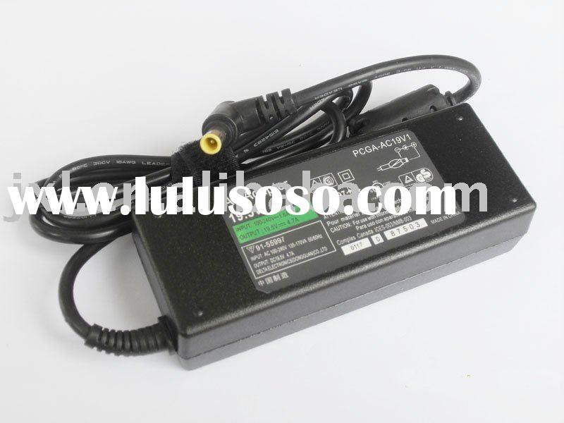 laptop ac adapter/laptop power adapter for Sony 19.5v 4.7A ac adapter