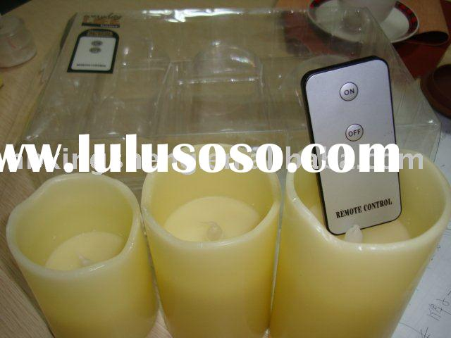 led candle light remote control led flameless candle
