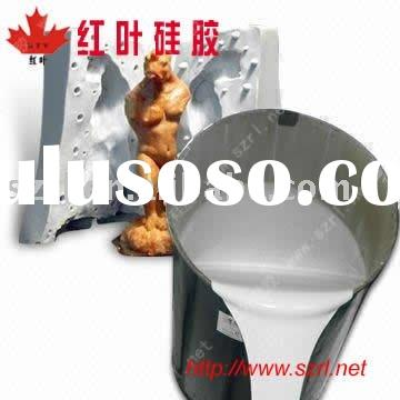 liquid silicone rubber for statues and reliefs mold making