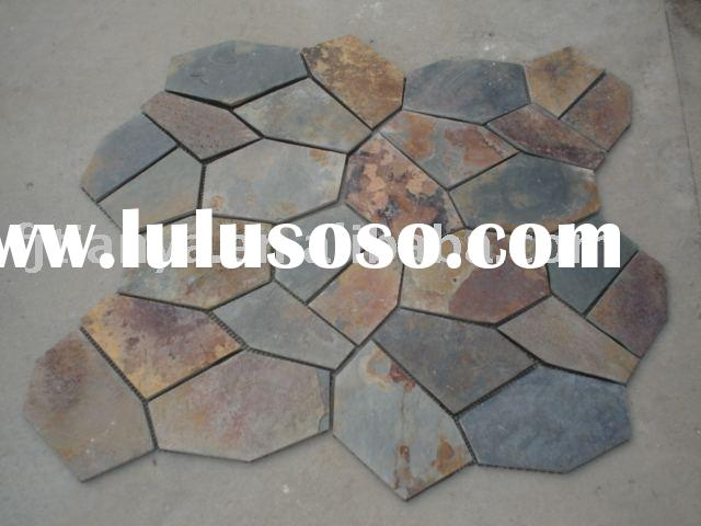 matted flagstone/slate/culture stone/net paste/floor tile (TY1120L)+