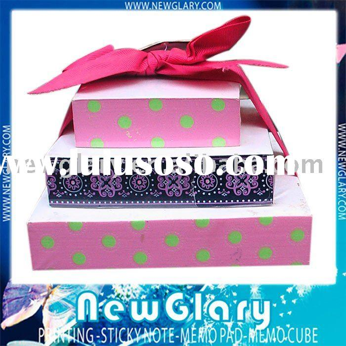 memo pad gift sets,memo cube,memo pad with pen