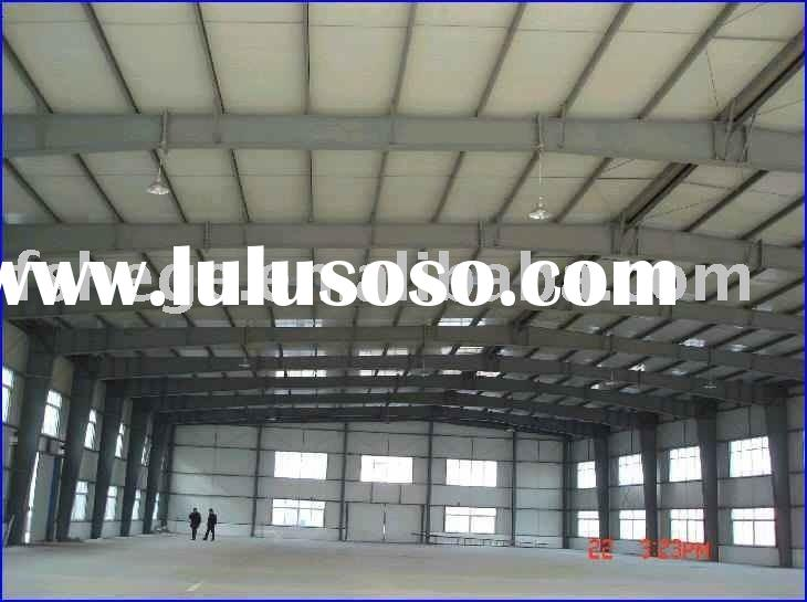 metal frame building,prefabricated building,light steel structure warehouse