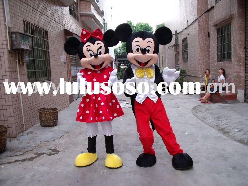 mickey minnie mouse movie cartoon mascot,moving costume,movie mascot
