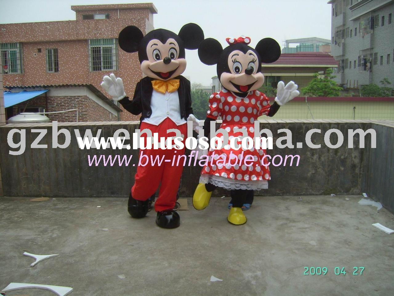 mickey mouse costume/mascot costume/character costume