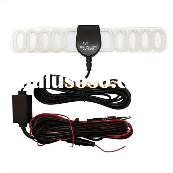 new Car TV and Radio 2 IN 1 Antenna Amplifier+Booster(FD-A0010)