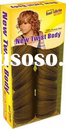 new twist body, hair weft, hair weave, brazilian hair weave, wefted hair extensions