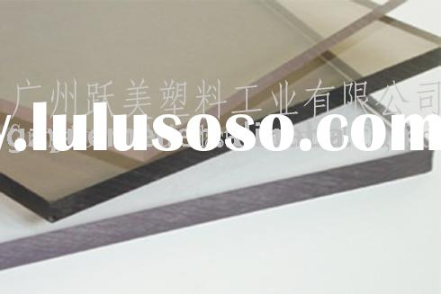 plastic construction material-polycarbonate glazing sheets panels