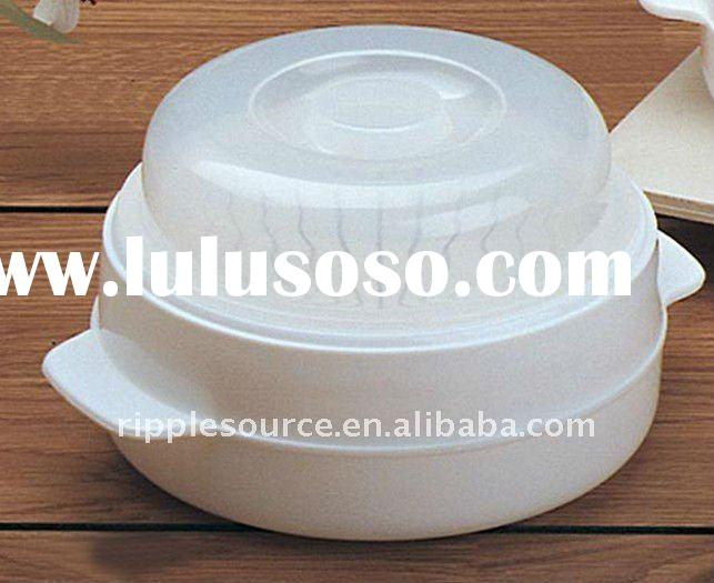 plastic food storage box with cover,steam container