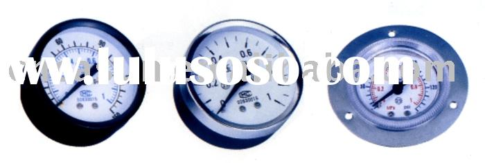 pressure gauge(pneumatic fitting,pneumatic accessory,pressure meter,manometer,gas pressure gauge)