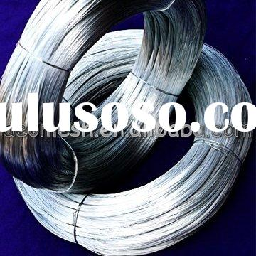 pvc coated galvanized wire/galvanized wire