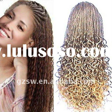Synthetic Hair Weft Bulk 96