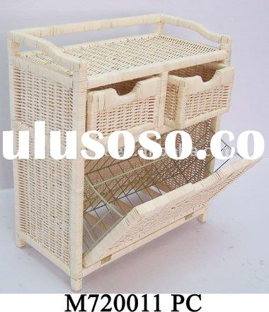rattan shoe cabinet; shoe cabinet;home furniture
