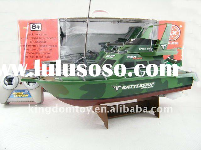 rc model boat kits