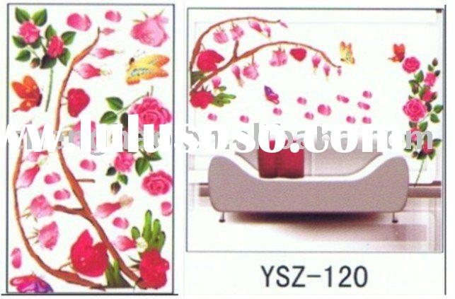 removable adhesive wall sticker decor