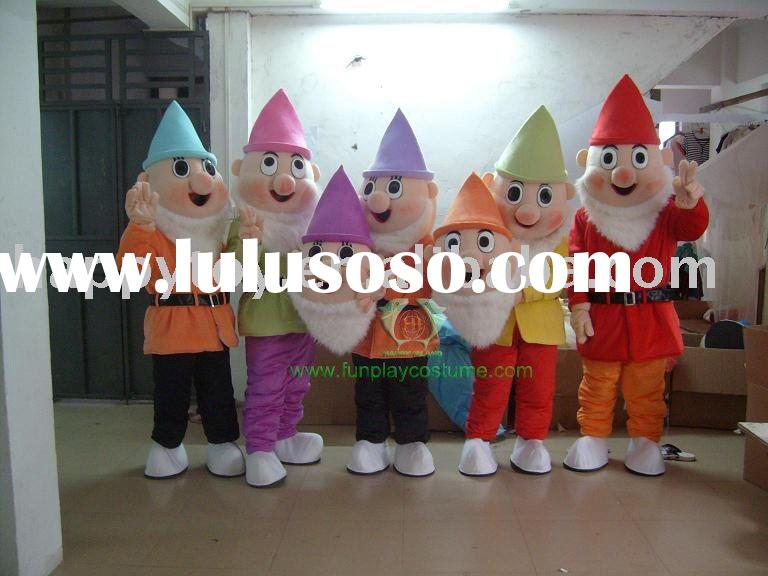 seven dwarf costume/movie cartoon mascot/character costume