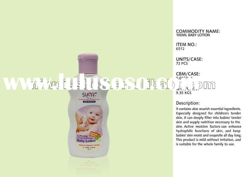 shoff skin care products baby body lotion