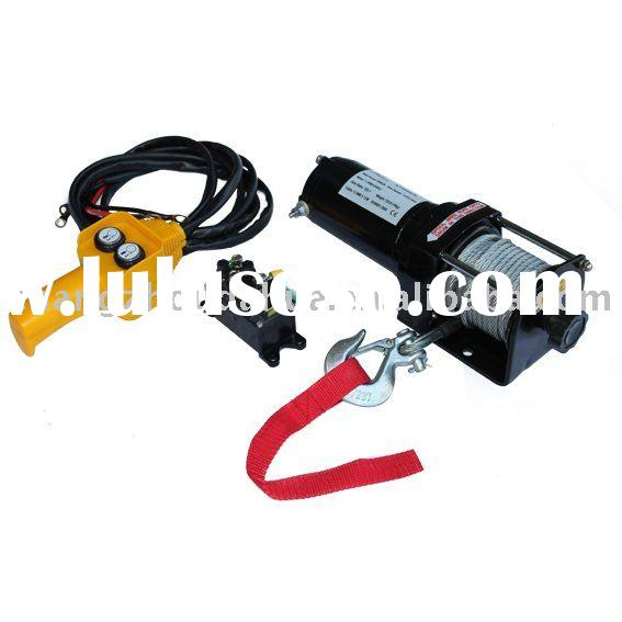 Very Small Light Duty Electric Winch  Very Small Light