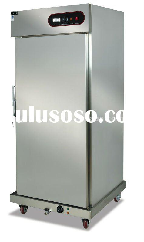 stainless steel Food Warmer Cart with cabinet DH-11-21