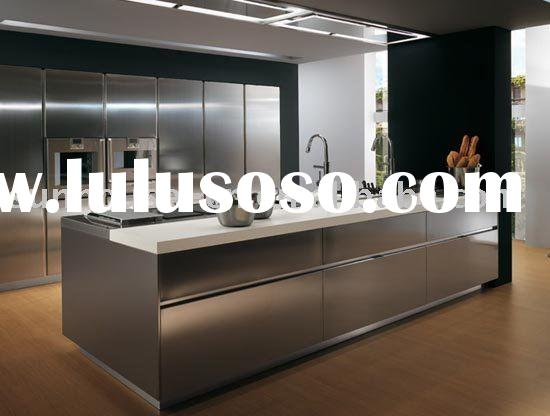 Stainless steel kitchen cabinet stainless steel kitchen for Stainless steel kitchen cabinets manufacturers