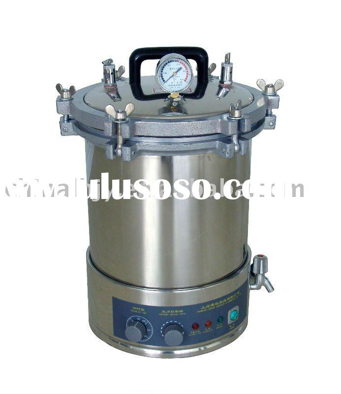 steam pressure portable sterilizer,autoclave