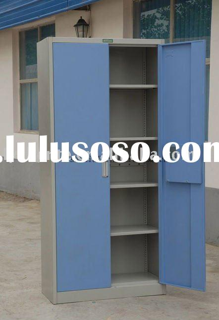 steel folio door filing cabinet with electronic lock