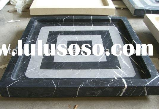 stone shower tray, shower base,granite window sill,tub surround,stone liner,bath tray,travertine bat