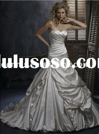strapless gown with sweetheart neckline wedding dress patterns MG31