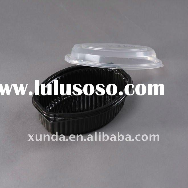 sushi food container/ disposable food packing/ plastic food packing