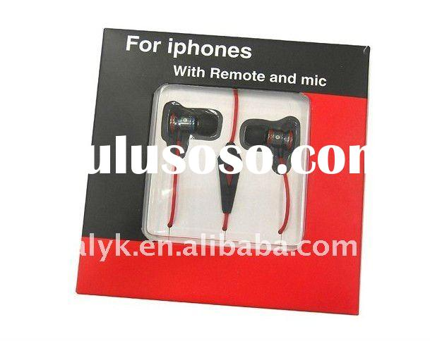 talkcontrol earphone headset headphones with mic and remote for iphone