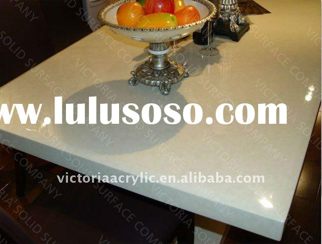 top-quality table tops artificial stone mess table tops