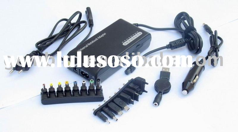 universal notebook power adapter AC+DC 2in1 100W