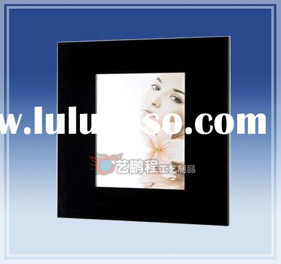 wall mount acrylic magnetic photo frame