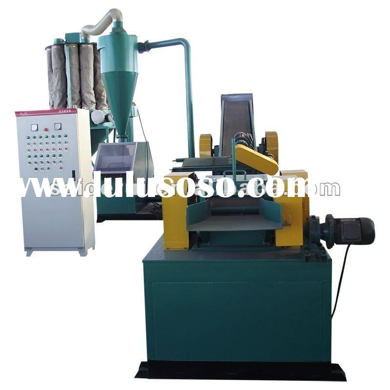 waste cable wire processing machine,copper wire recycling line,separate crush copper wire ,cable gra