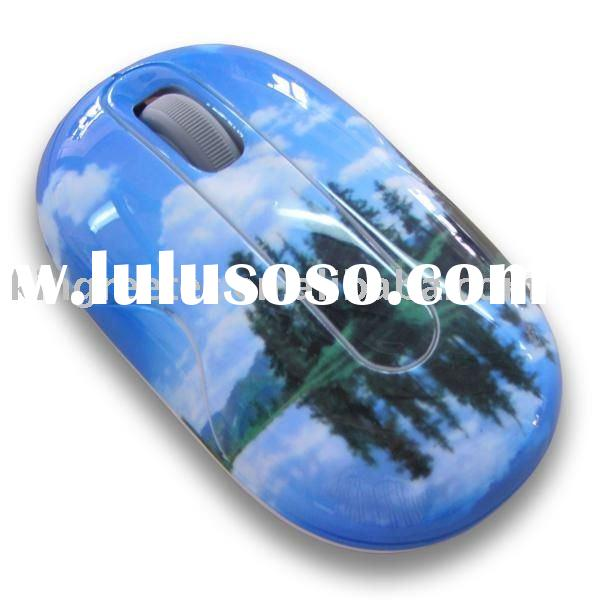 water printing optical mouse with fashionable pattern