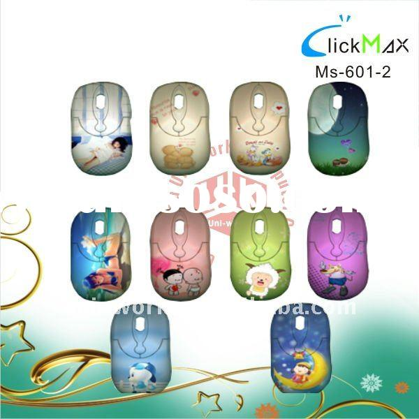 water transfer printing mini 3D optical mouse