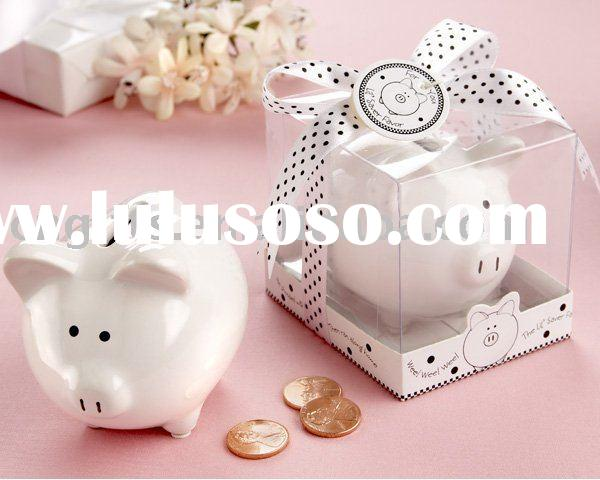wedding souvenir piggy bank money box coin bank