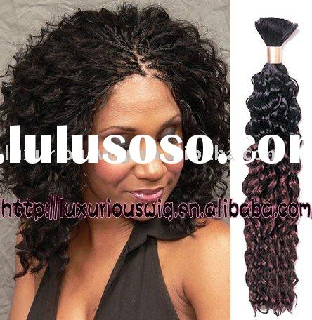 wholesale african american's indian color toned hair