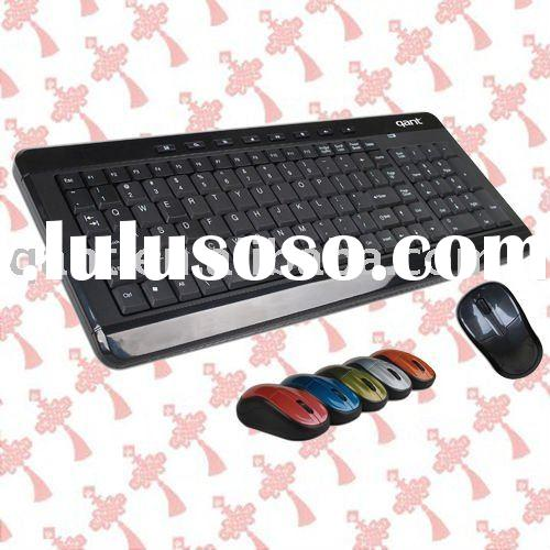wireless keyboard&mouse combo,waterproof and quiet design