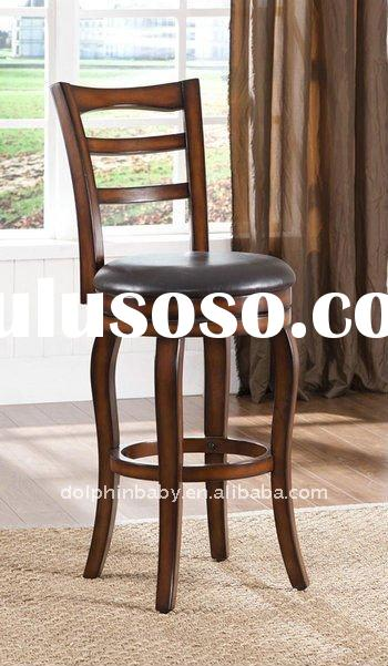 wood bar stool,Counter Height Swivel, Bar Stool indoor bar stool,soft leather bar stool